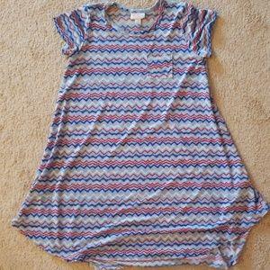 EUC Lularoe Americana Scarlett dress